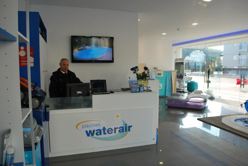 Visite a loja Waterair em Braga