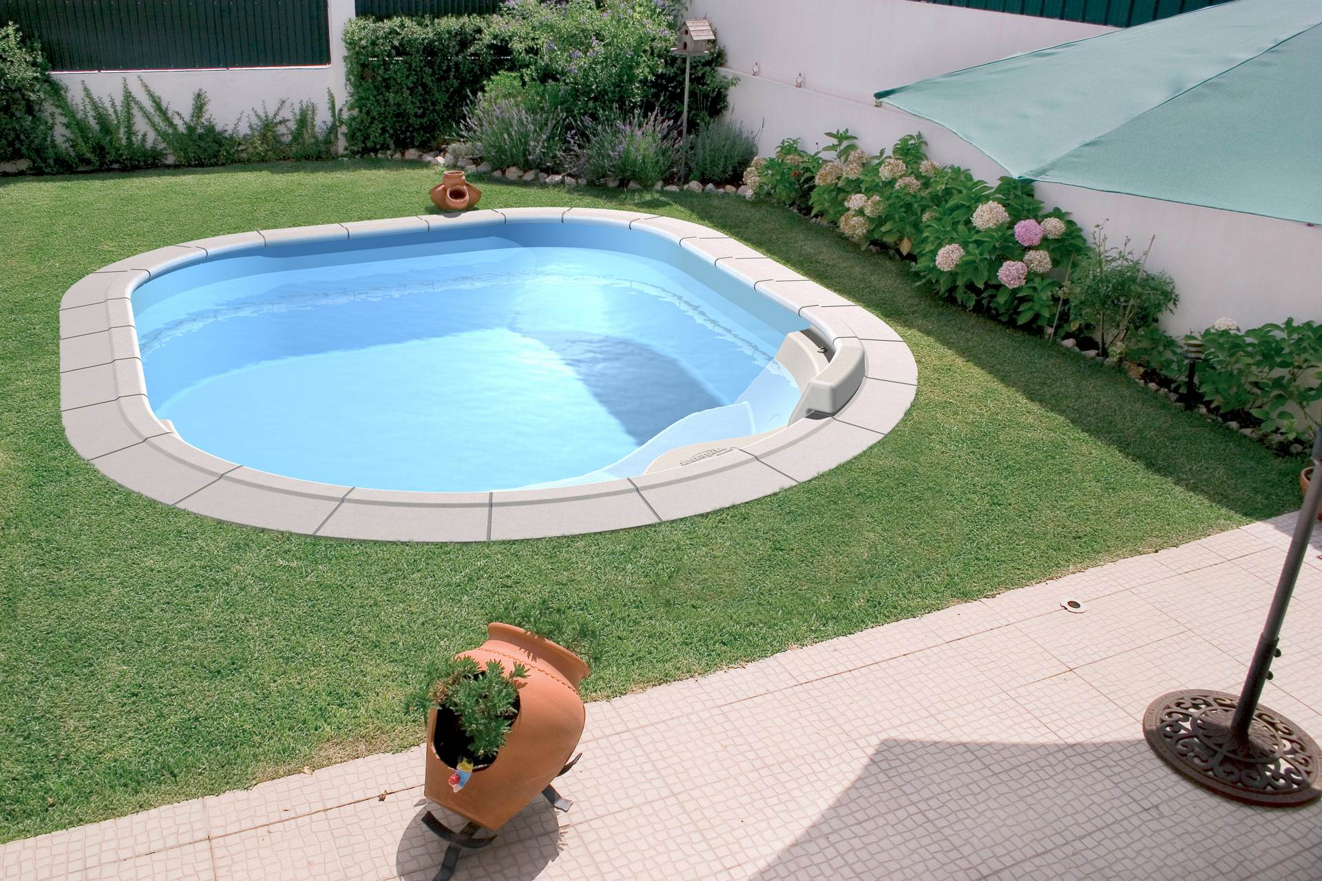 Piscinas enterradas vs piscinas de superf cie marpic - Piscinas enterradas ...
